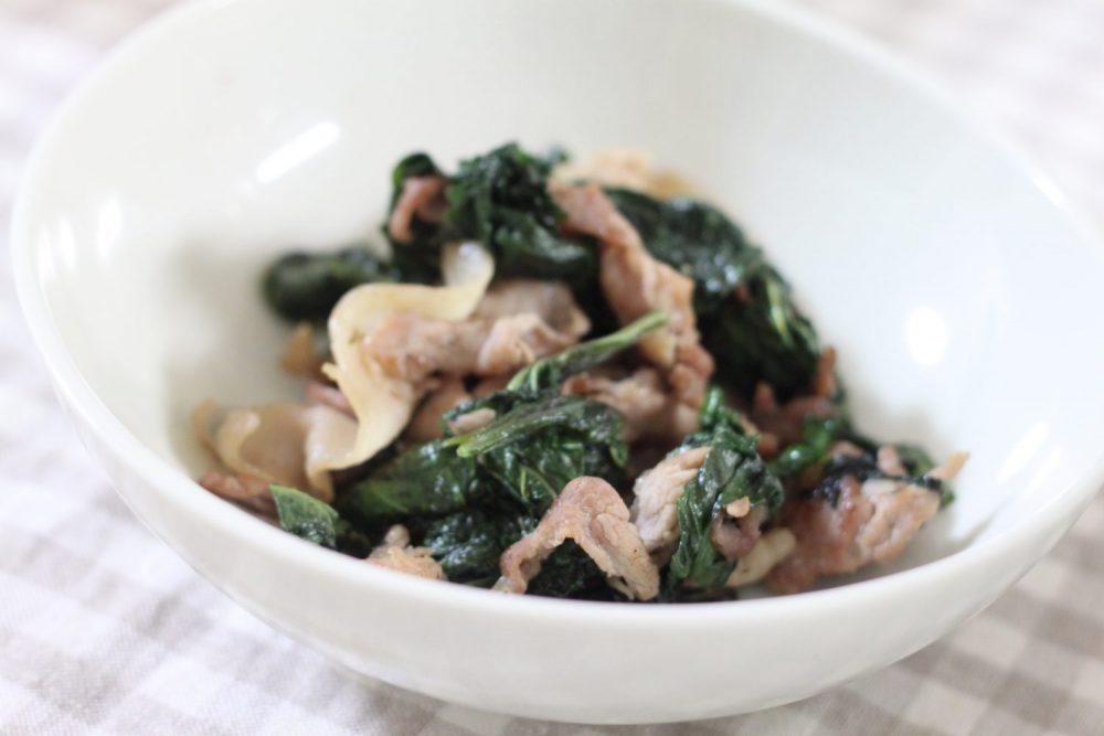 たっぷり大葉と豚肉の塩麹炒め~大葉を大量に使ったレシピ!