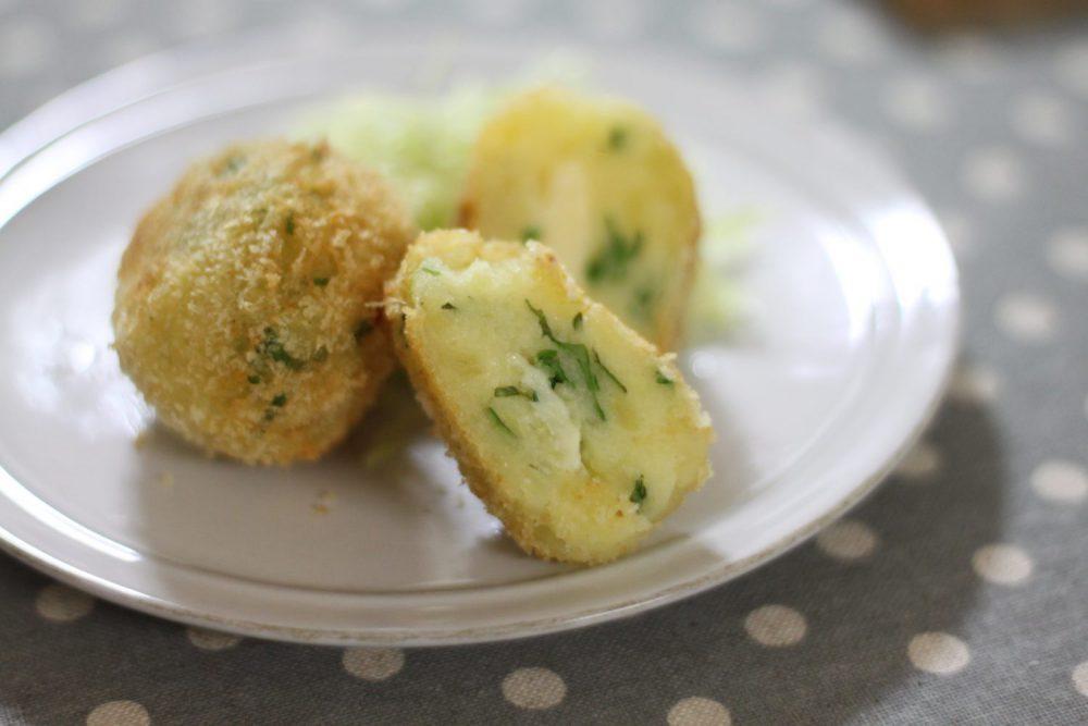 とろ~りとろけるチーズが美味しい大葉レシピ!大葉チーズコロッケ