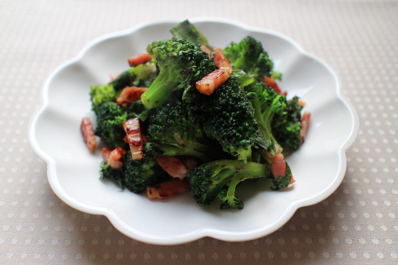 栄養満点大葉レシピ!大葉とブロッコリーのアーリオオーリオ
