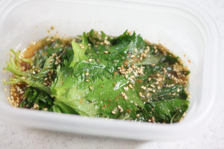 大葉キムチ【大葉大量消費】ご飯がススム大葉レシピ!