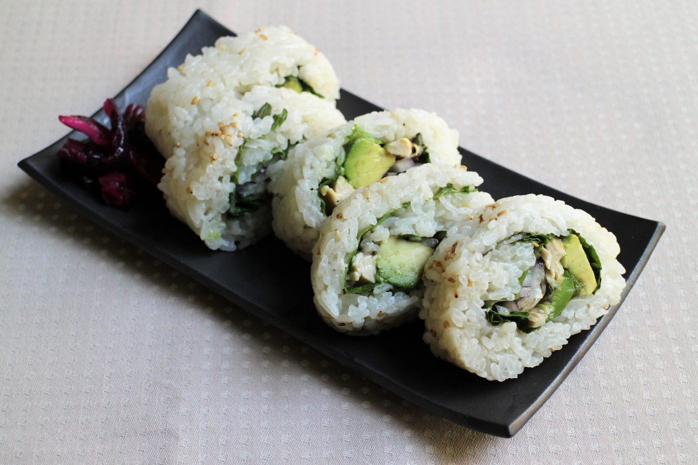 行楽シーズンにピッタリ大葉レシピ 大葉の裏巻き寿司