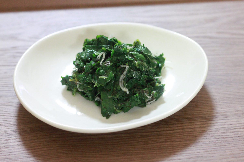 大葉茶とモロヘイヤのさっぱり和え大葉レシピ
