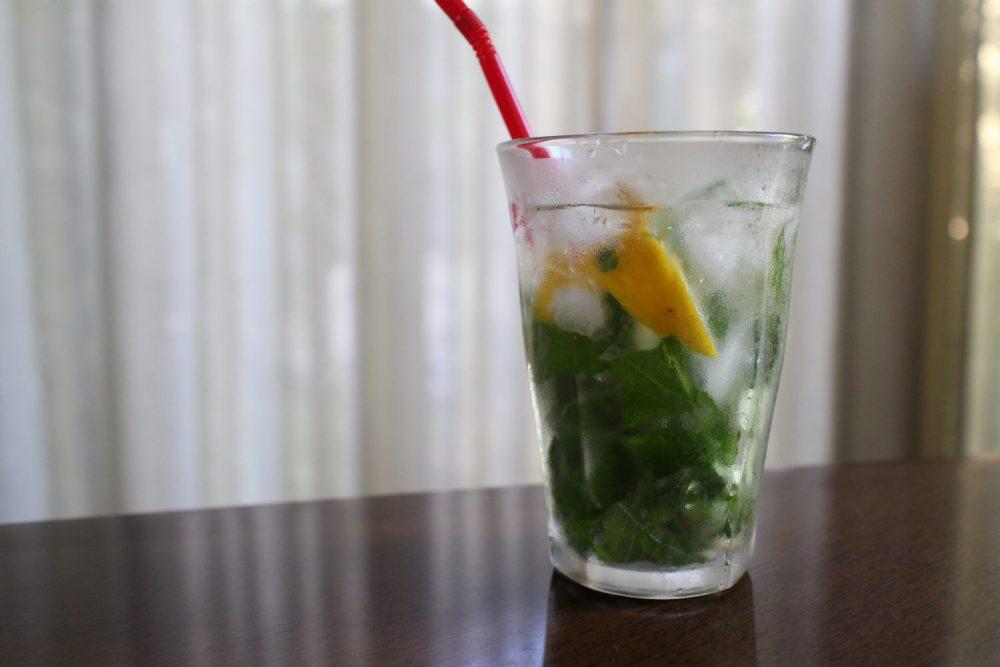 ノンアルコールの大葉モヒート風 大葉レシピ