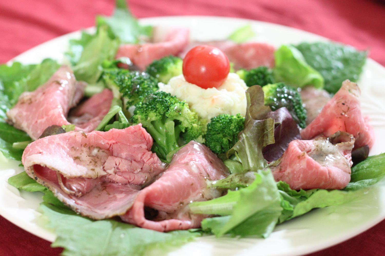 ローストビーフ大葉サラダの大葉レシピ