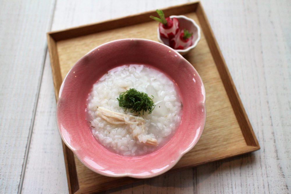 大葉と大根のお粥 大葉レシピ
