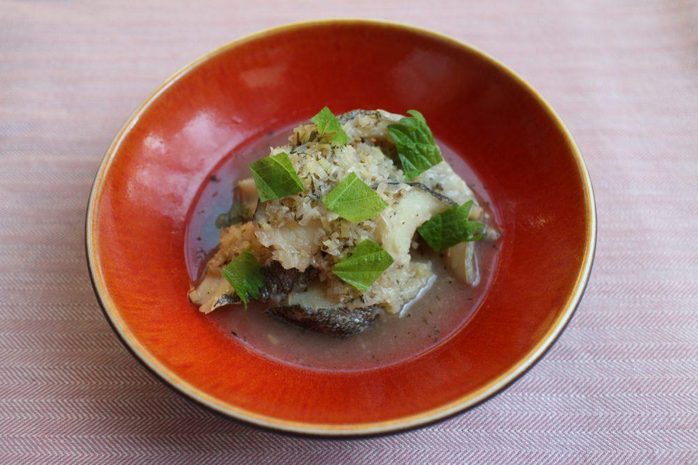 鱈の大葉香味煮 大葉レシピ