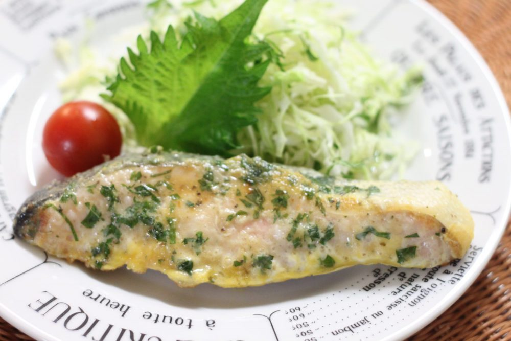 アンチエイジング大葉レシピ!大葉と鮭のチーズピタカ