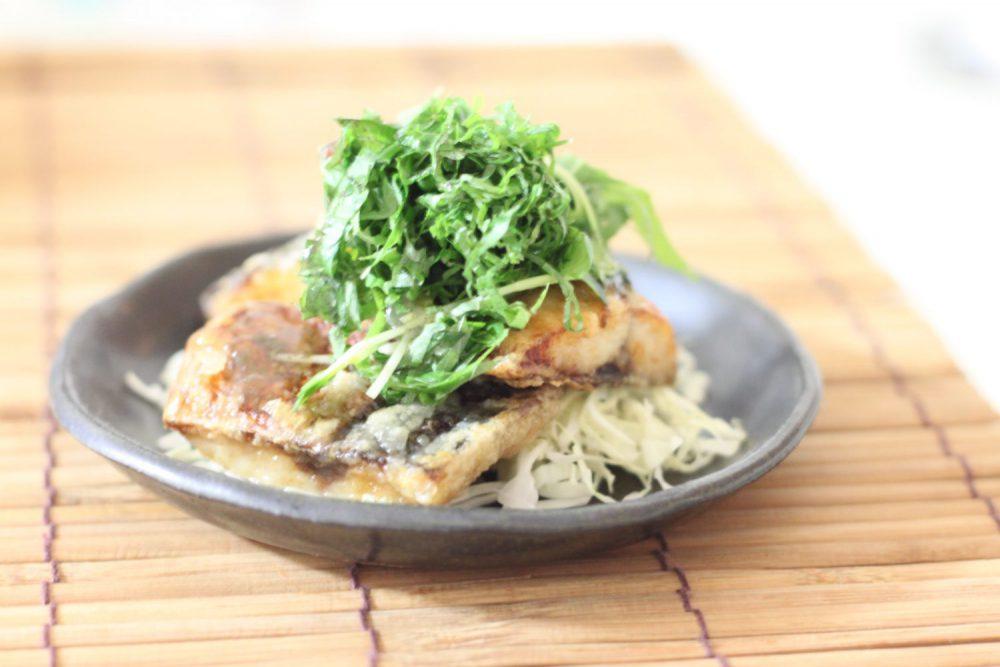青魚が苦手な人にもおすすめ大葉レシピ!大葉たっぷり鯖の竜田焼き