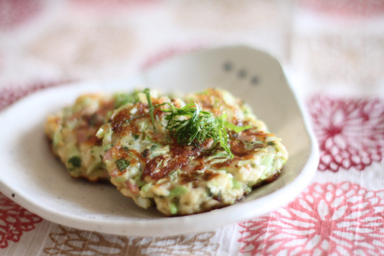 簡単お手軽大葉みそレシピ!大葉と紅生姜のはんぺん焼