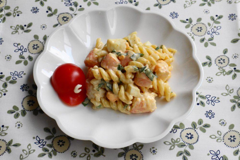 お弁当にぴったり大葉ドレッシングレシピ!大葉マカロニサラダ
