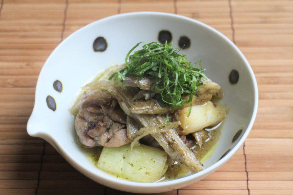 コクがあるのにさっぱり大葉レシピ!鶏肉とたたきごぼうの大葉ドレ煮