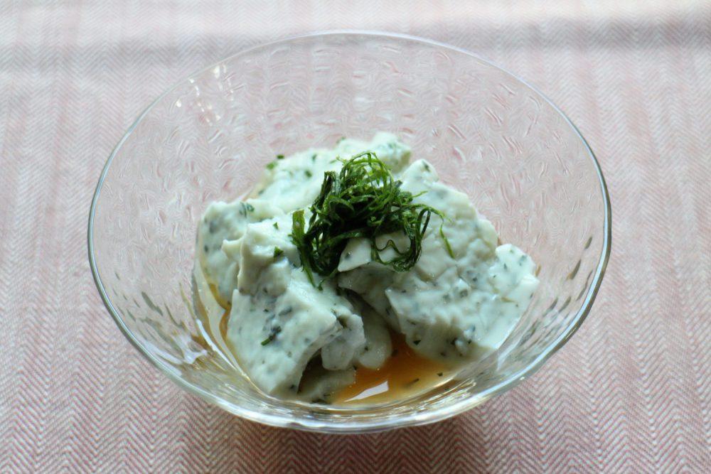 大葉使った大葉豆腐 大葉レシピ