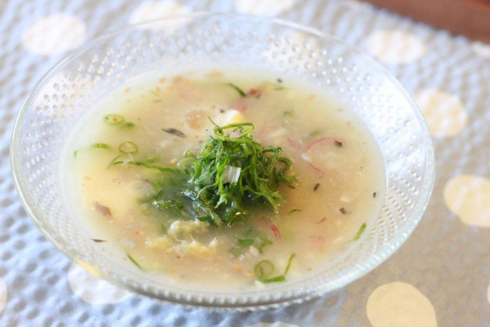 大葉みそとサバ缶の冷や汁の大葉レシピ