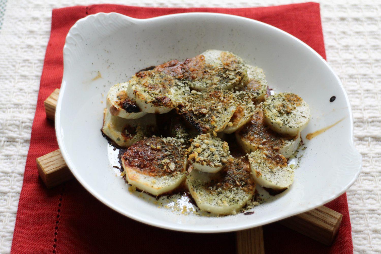 里芋の大葉茶焼き大葉レシピ