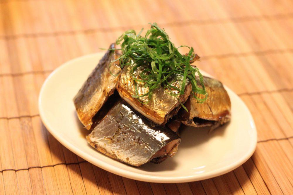 秋刀魚の照り煮 大葉ドレッシングレシピ