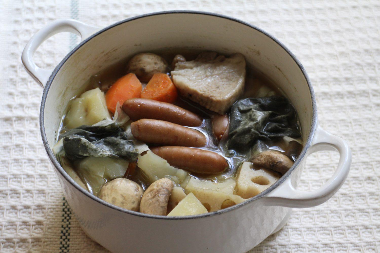 大葉茶ポトフ大葉レシピ