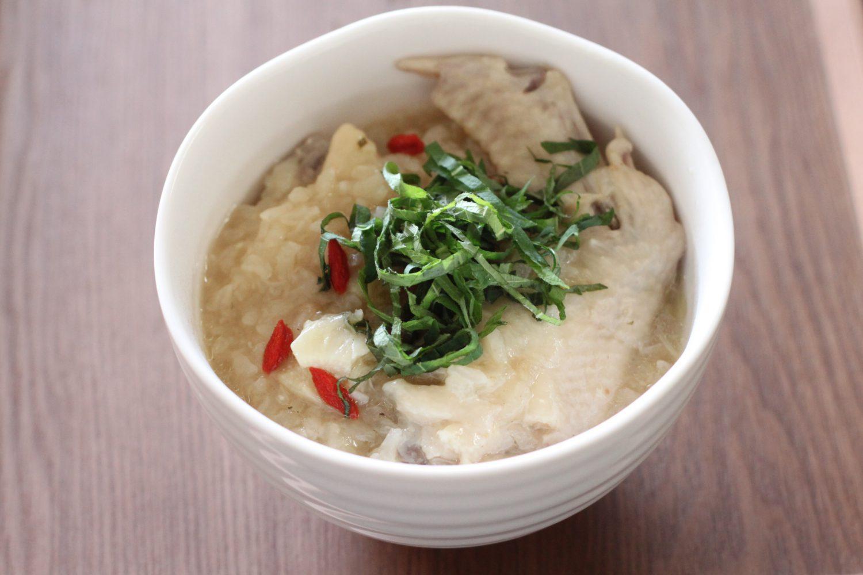 大葉茶で炊く参鶏湯 大葉レシピ