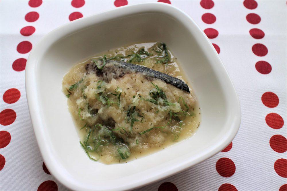 ブリの大葉おろし煮 大葉レシピ