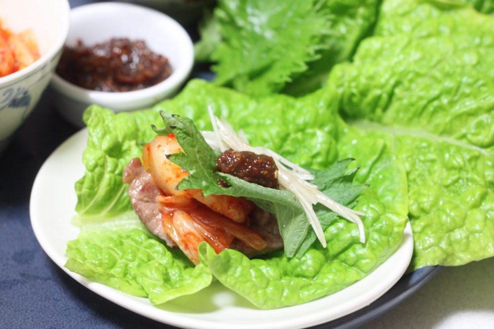 大葉みそ(味噌)のサムギョプサル 大葉レシピ