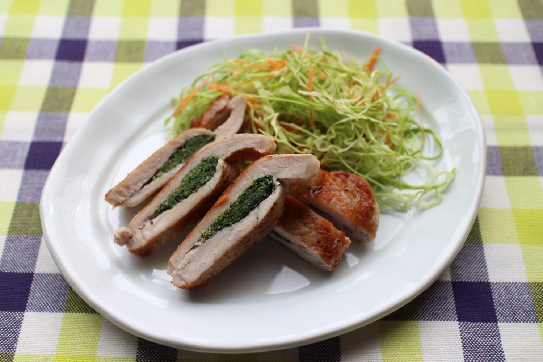 大葉をはさんだ豚ソテー大葉レシピ