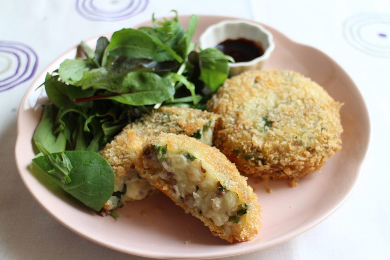 大葉とチーズのポテトコロッケ 大葉レシピ