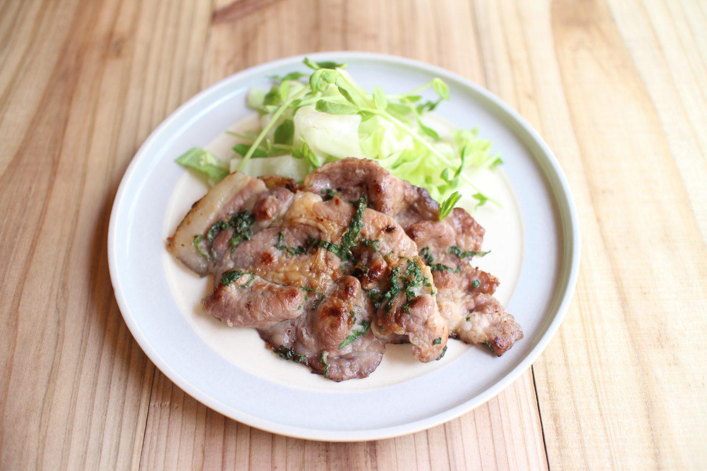 豚の大葉ナンプラー焼き 大葉レシピ