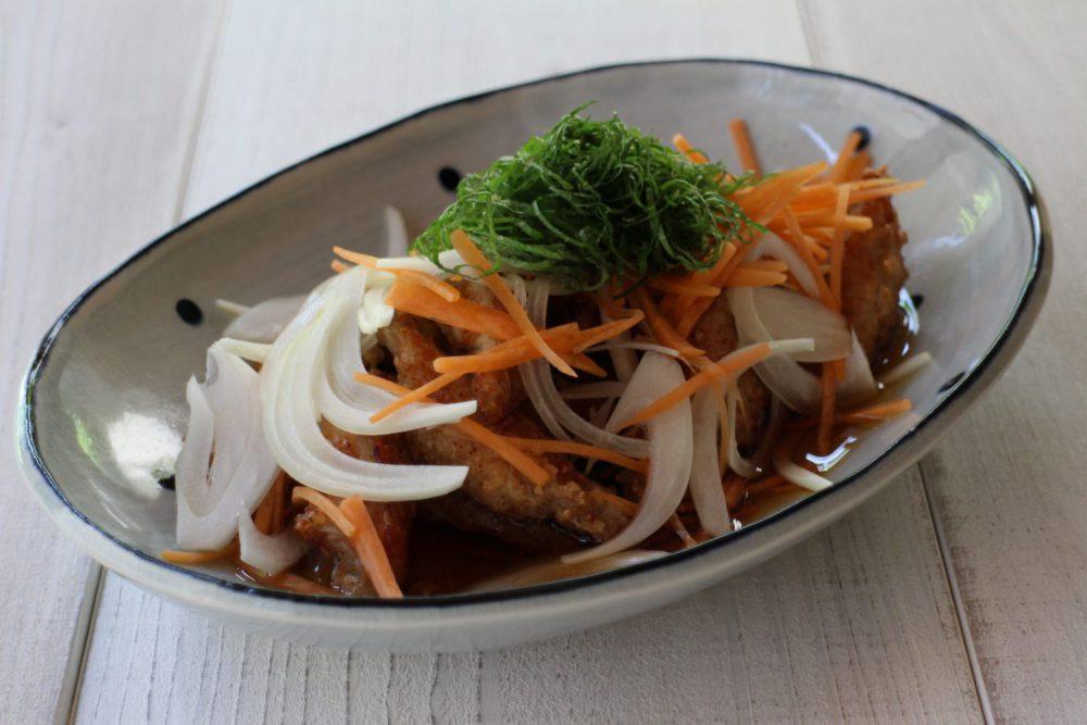 鶏手羽中の大葉南蛮漬け 大葉レシピ