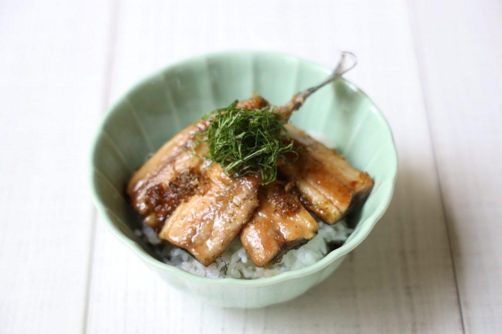 さんまの大葉かば焼き丼 大葉レシピ