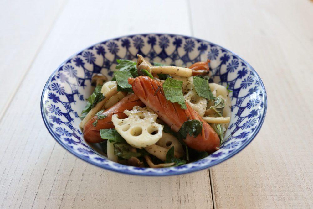 蓮根と大葉のジャーマン風 大葉レシピ