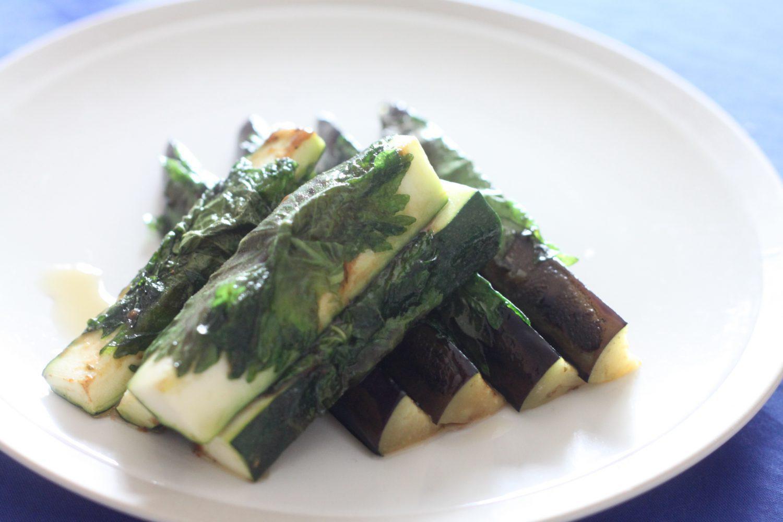 茄子のしそ巻き(東北の郷土料理) 大葉レシピ
