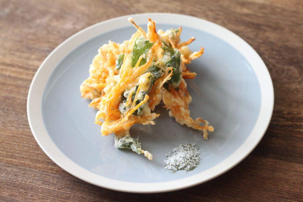 大葉と人参の天ぷら 大葉レシピ