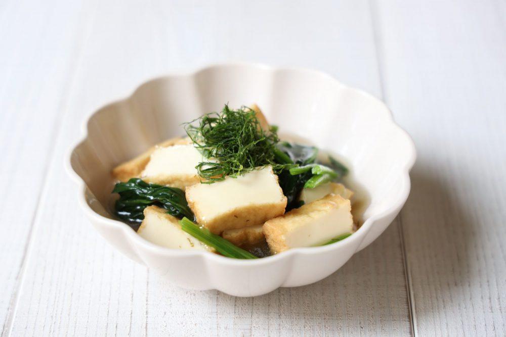 大葉風味の厚揚げ煮物  大葉レシピ