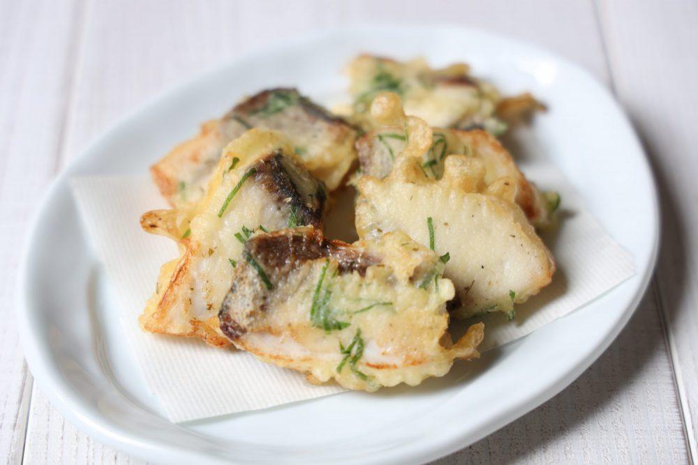 ブリの大葉天ぷら 大葉レシピ