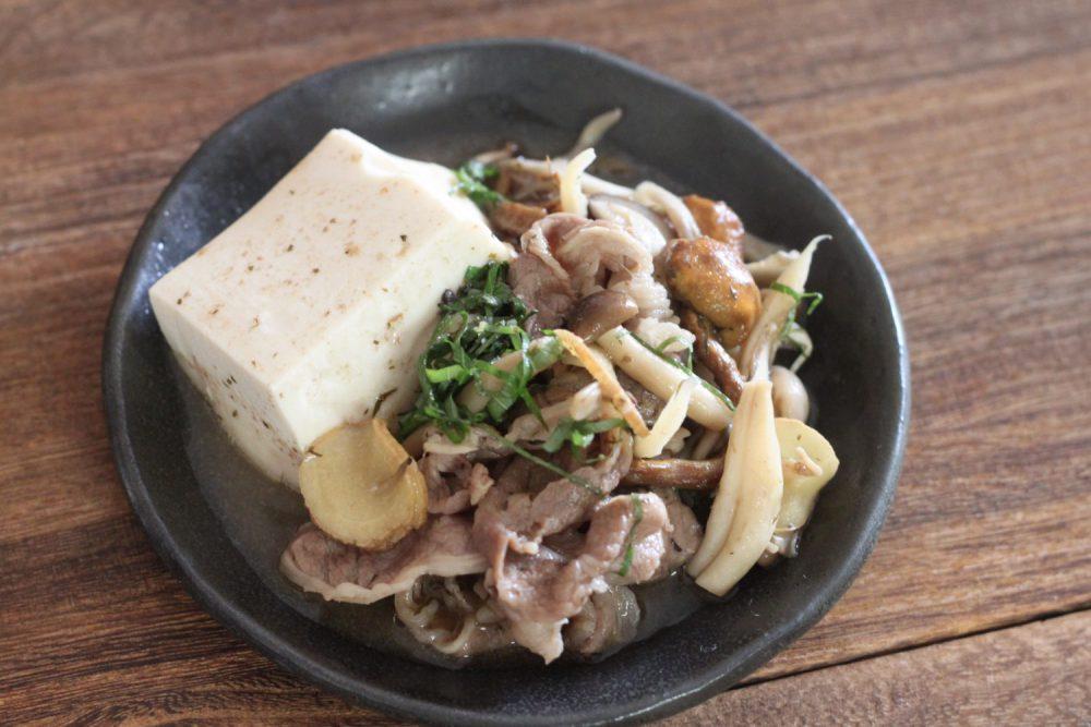 大葉ドレッシングでつくる簡単肉豆腐 大葉レシピ