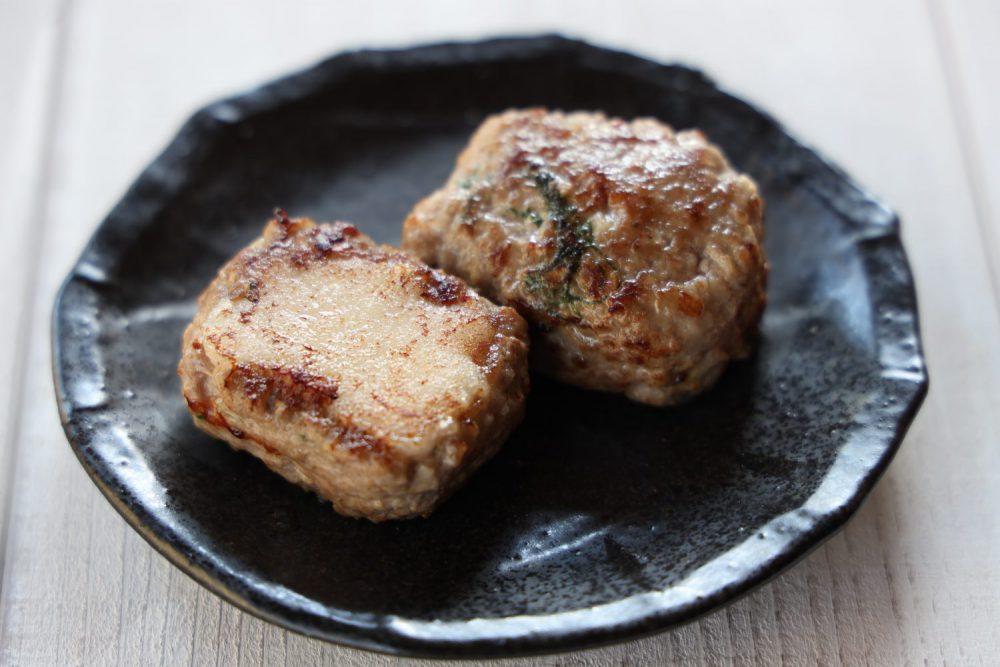大葉入りお餅ハンバーグ 大葉レシピ