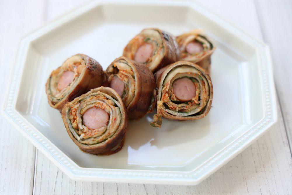 豚と大葉のキムチロール 大葉レシピ