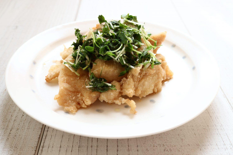 揚げ鶏の大葉だれがけ 大葉レシピ