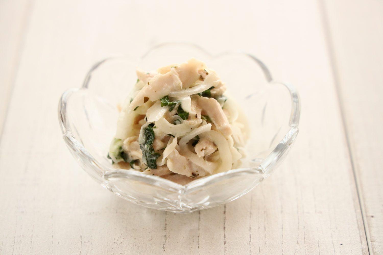 大葉と新玉のサラダ 大葉レシピ