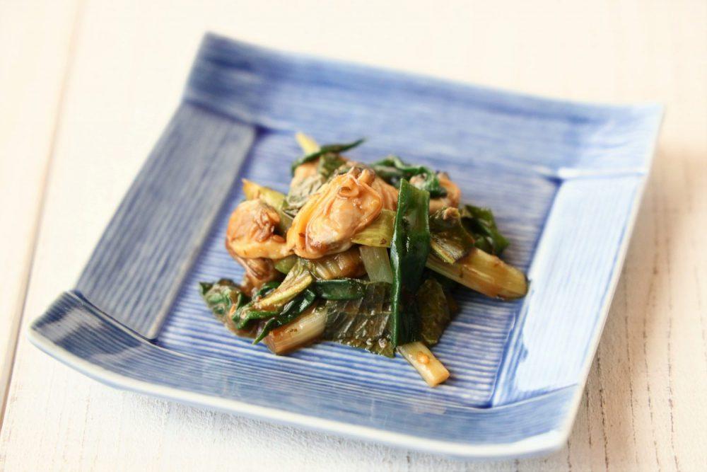 大葉味噌であさりのヌタ 大葉レシピ