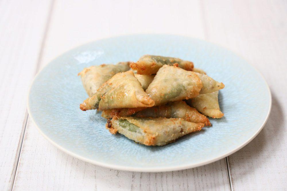 大葉チーズのサモサ 大葉レシピ
