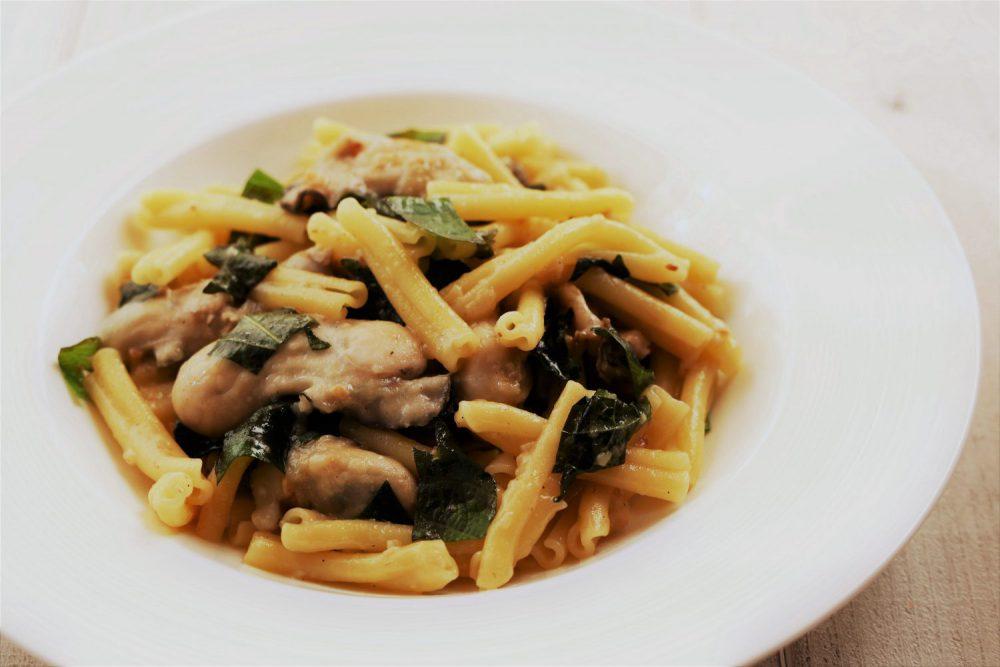 大葉と牡蠣のカサレッチェ 大葉レシピ