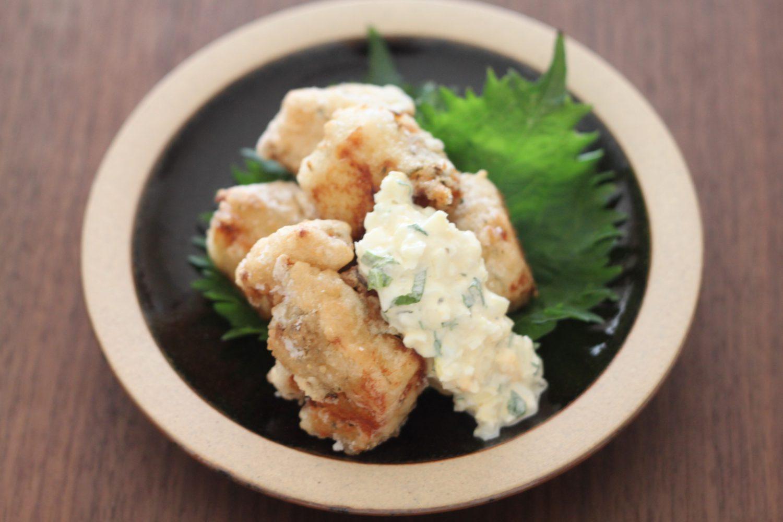 冷凍豆腐のからあげ・大葉タルタルソース 大葉レシピ
